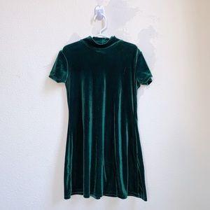 My Michelle Dresses - My Michelle | Velvet Green Holiday Dress